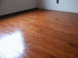 Finished Engineered Red Oak Floor