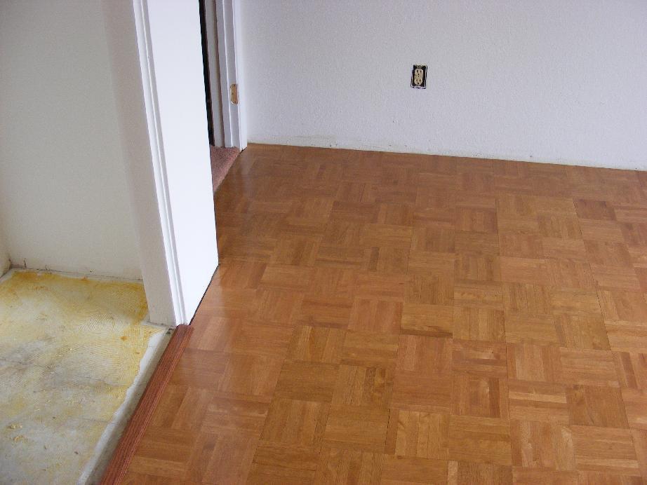 Pecos sww bedroom remodel - Painted parquet floor pictures ...
