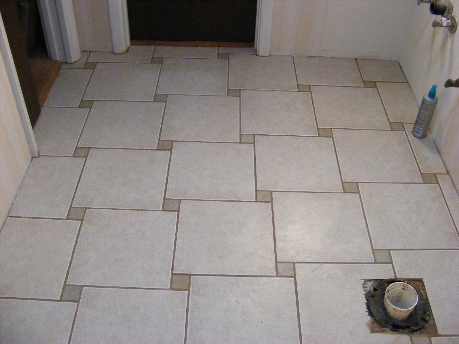 Tile Work That I Felt Comfortable With The Master Bath Tile Floor