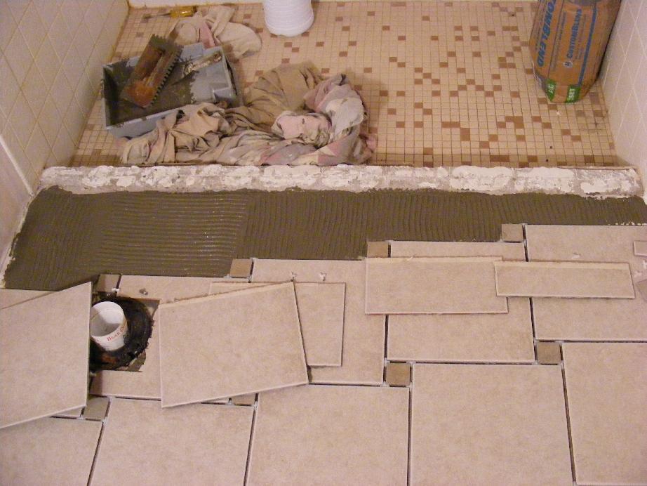 Pecos Swwceramic Tile Installation