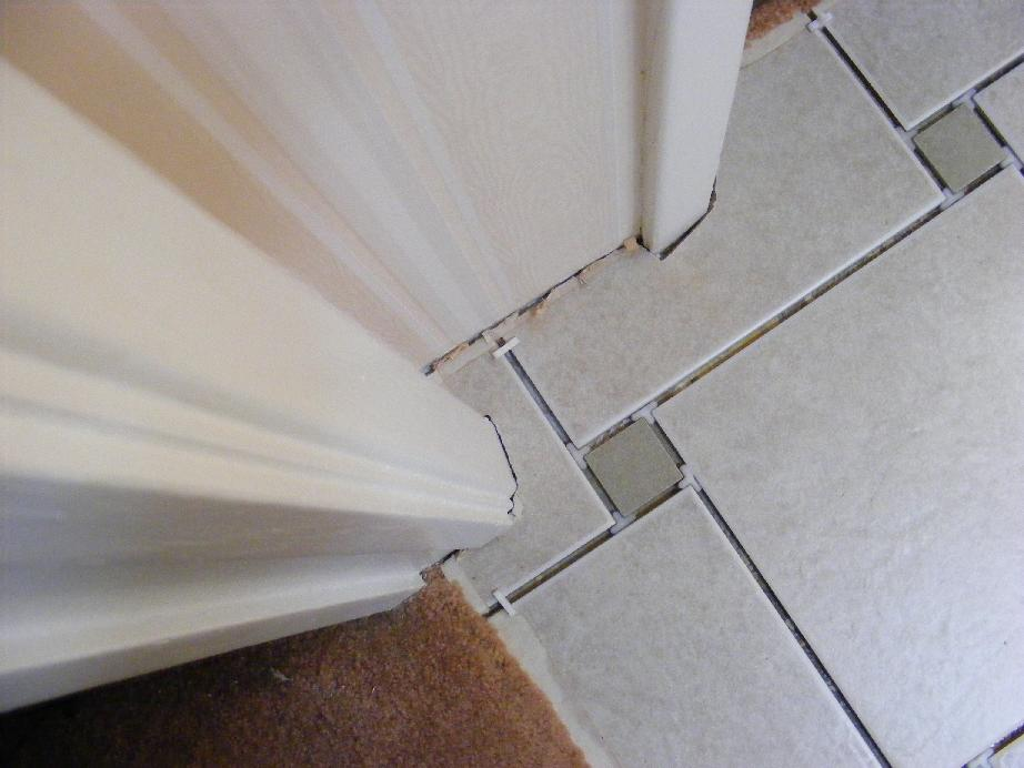Bathroom Floor Tile Preparation : Pecos sww ceramic tile installation