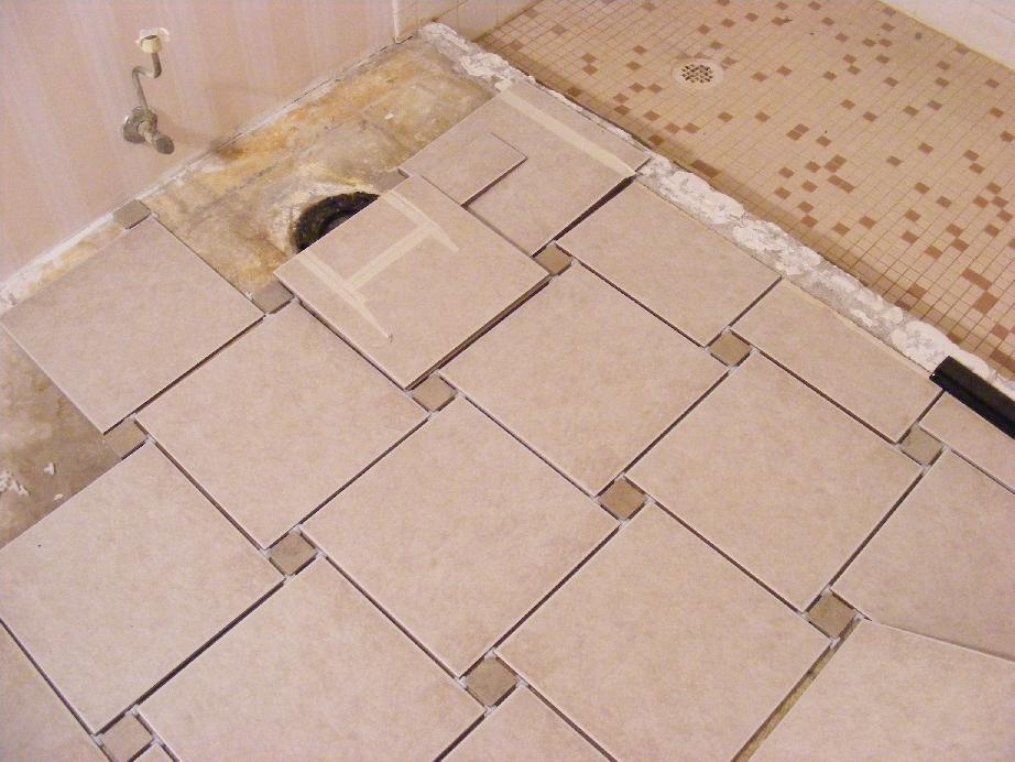 Prepare floor for ceramic tile