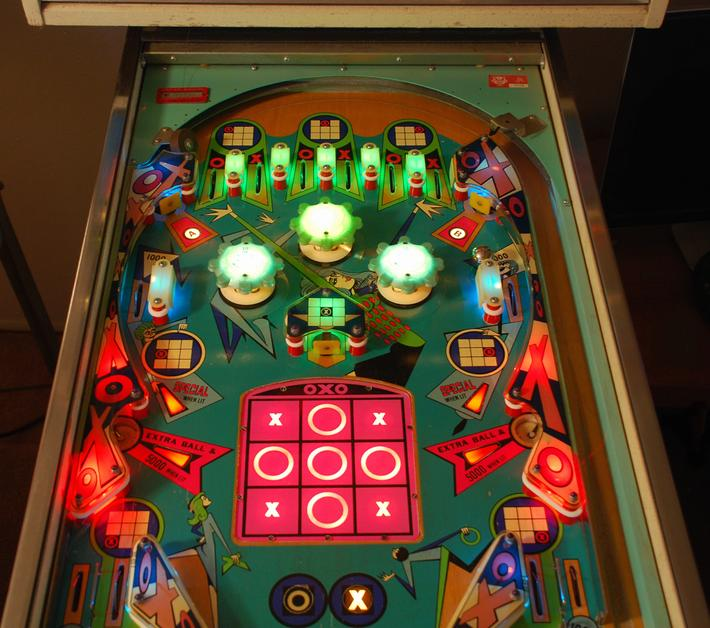My First Pinball, Williams 1973 OXO