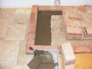 Interior Tile-set of Catch Basin