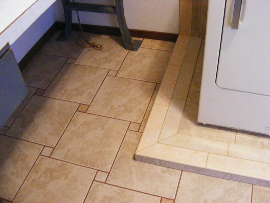 Floor tile trims